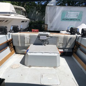MerCruiser 230 - Back Seating Area